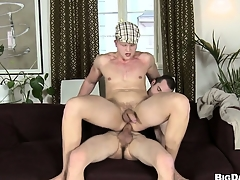 Gay dude gets his aggravation wrecked by a ache hard stud schlong