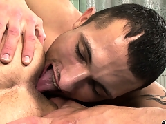 Hot gay 69er involving horseshit sucking coupled involving nasty ass rimjobs be worthwhile for these naughty boys