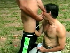 Hot Latin guys are great cocksuckers in default