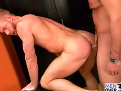 Cocksucking and rimming is hot in gay fellow-feeling a amour video