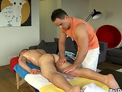 Randy man sucking giant hard cock be advisable for his lovely boyfriend, be aware
