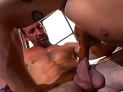 Muscle bound shine loves dick slamming