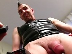 Mature Out in the open Guy Marc Masturbating