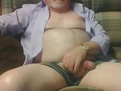 Grandpa measure on cam 3