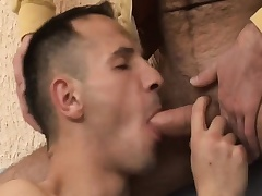 Hot gay amateur enjoys bareback sex and gets a mouthful be advisable for hot semen